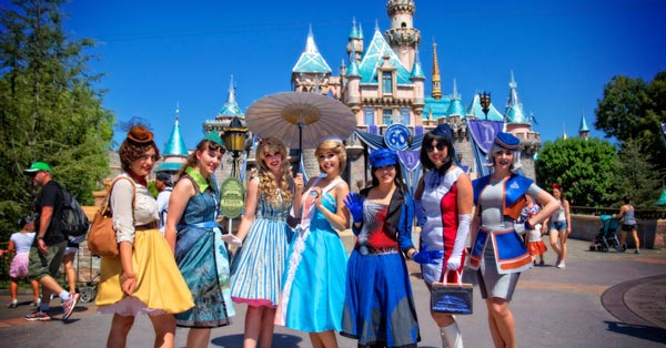 Dapper Day at Disneyland (9-19-2015)