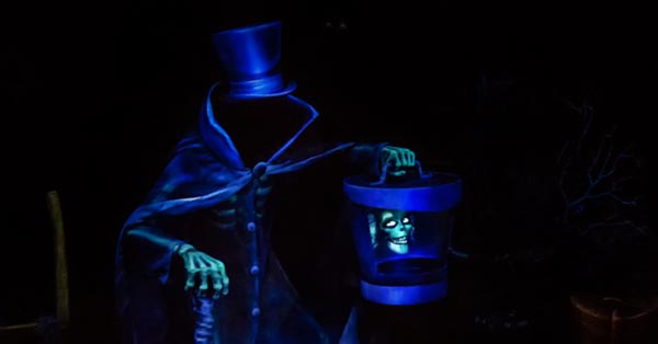 Return of the HatBox Ghost to Disneyland