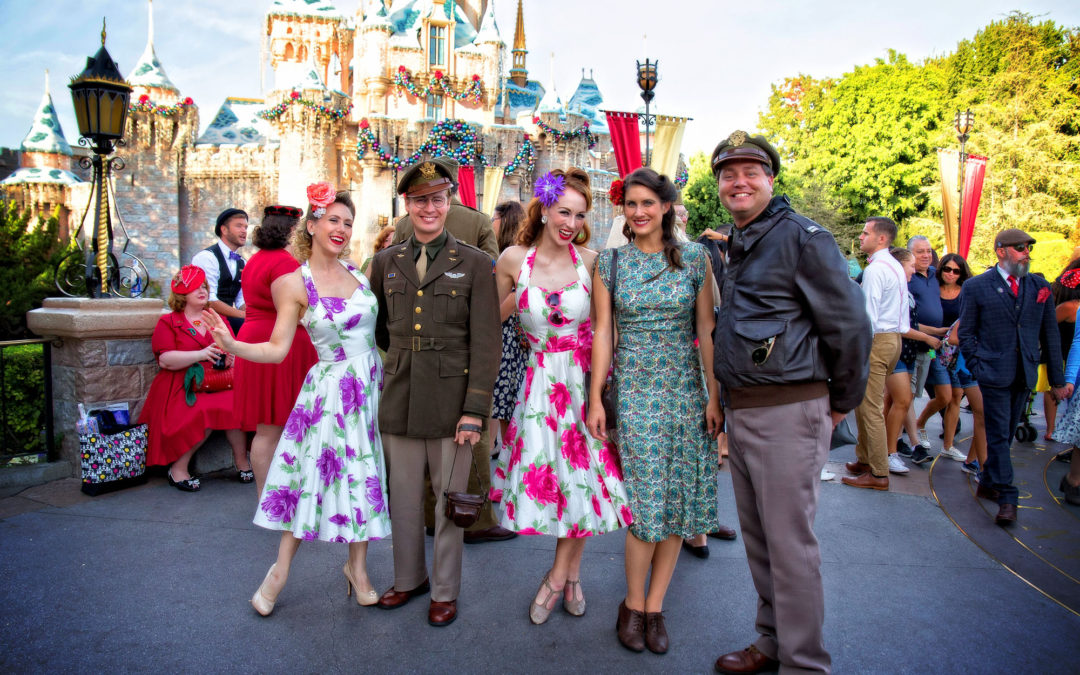 Dapper Day at Disneyland (11-06-2016)